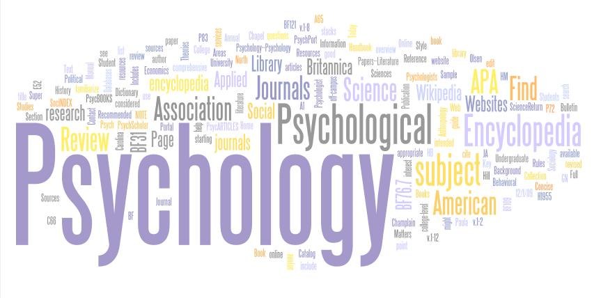 psychology subjects in college online scientific articles